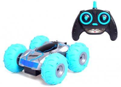 StreetGo - Радиоуправляемая машинка перевертыш Speed Power blue