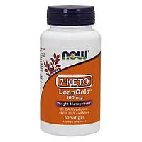 7-Кето NOW Foods 7-Keto LeanGels 100 mg 60 гелевых капсул