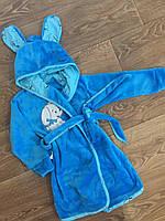 Халат детский махровый с ушками , фото 1