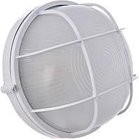 Светильник MAGNUM MIF 012 60W E27 белый (круг с реш.), фото 1