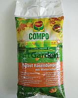 Удобрение COMPO для газона осень, 4кг