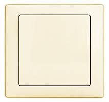 Выключатель 1-й встроеный DELUX WEGA 9021 крем
