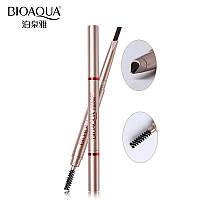 Водостойкий двухсторонний карандаш для бровей BioAqua