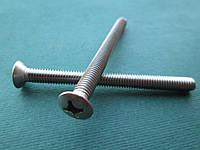 DIN 966 (ГОСТ 17474-80; ISO 7047) : нержавеющий винт с полупотайной головкой, фото 1