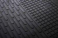 Передние автомобильные резиновые коврики Mercedes Benz ML-W164 2005- (1012062)