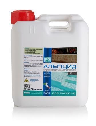 Средство для борьбы с водорослями Barchemicals Альгицид PG-42 5л
