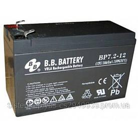 Аккумуляторная батарея B.B. Battery BP 7.2-12/T2