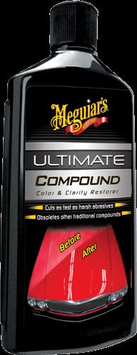 Meguiar'sUltimate Compound Color and Clarity Restorer Микроабразивный полироль для кузова автомобиля  450 мл