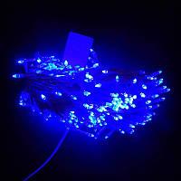 Гирлянда Нить Конус-рис LED 500 синий, белый провод (1-31)