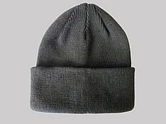 Шапка зима чорного кольору