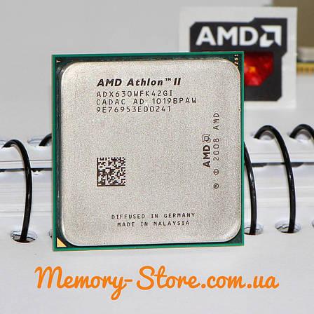 Процессор AMD Athlon II X4 630 2.8GHz, 95W + термопаста GD900, фото 2