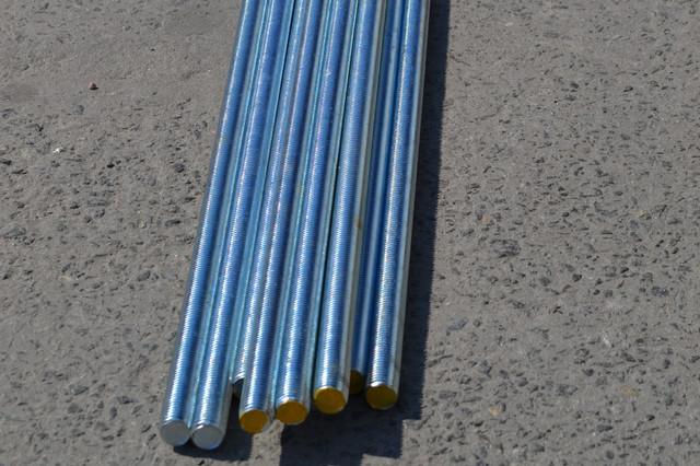 Шпилька резьбовая М27 DIN 975 оцинкованная - купить