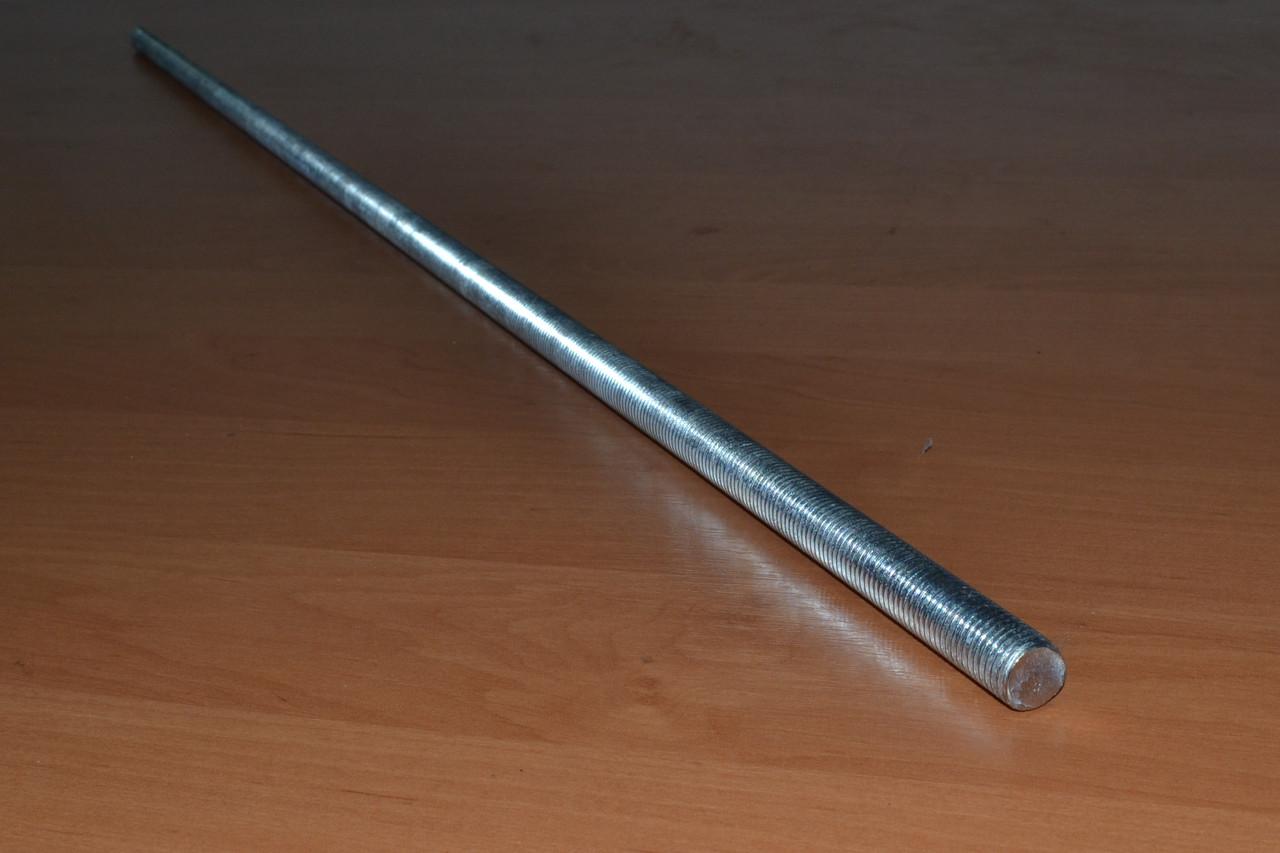 Шпилька резьбовая М27 DIN 975 оцинкованная