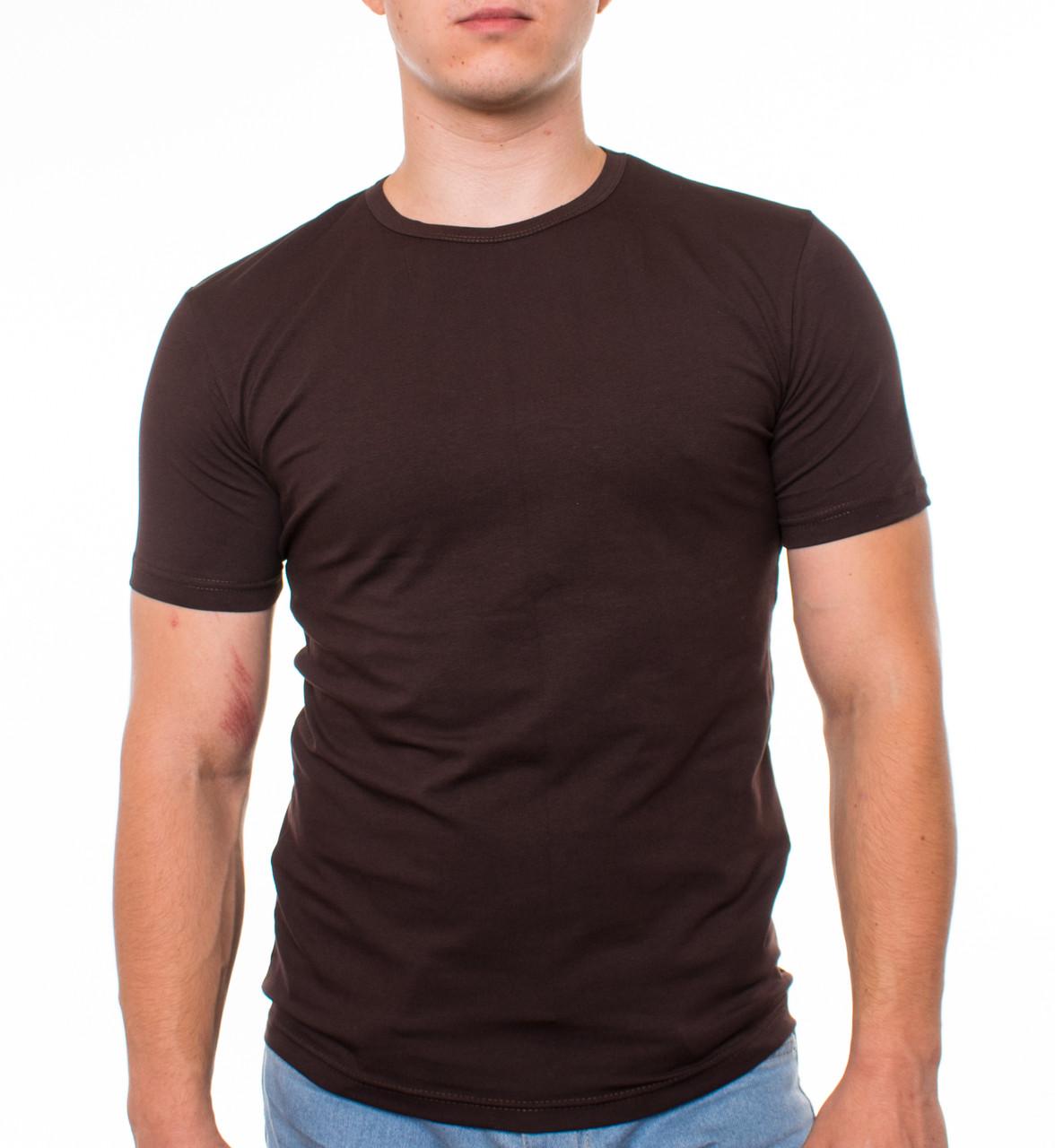 Bono Футболка Мужская коричневая 950199