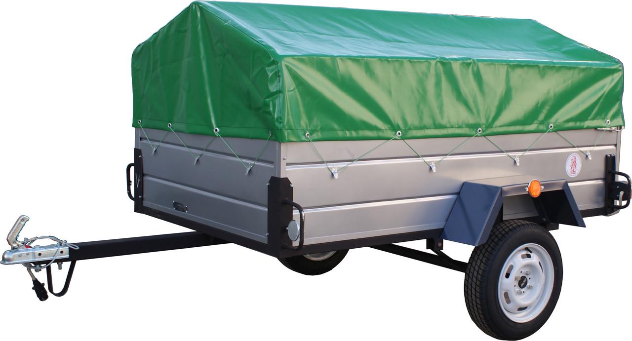 Купить прицеп для легкового авто 2000*1300 в рассрочку  с бесплатной доставкой!
