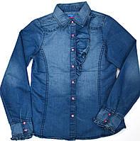 Рубашка 133-31G-04-000 Джинсовая