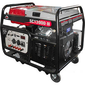Генератор Vulkan SC13000-II 3ф 13 кВа, ел.старт, бак-30л NEW