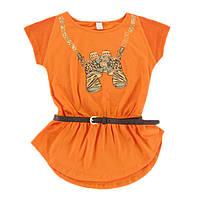 Туника для девочки-подростка Klub Safari Оранжевая