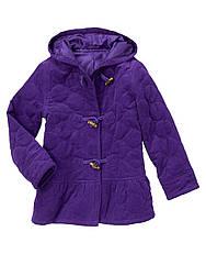Микровельветовая сиреневая куртка пальтишко (Размер 3-4Т) Gymboree  США