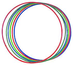 Обруч цветной, стальной гимнастическийSPORTKO  d 880 мм