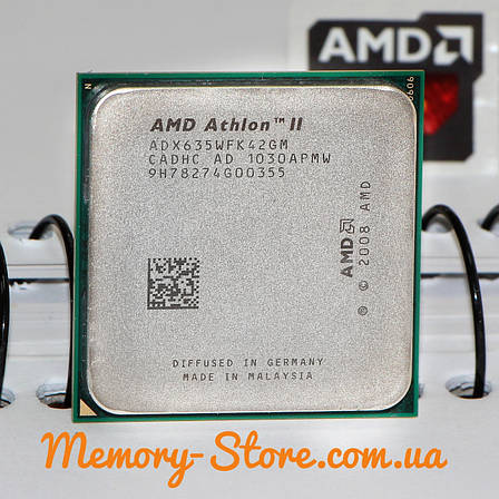 Процессор AMD Athlon II X4 635 2.9GHz, 95W + термопаста GD900, фото 2