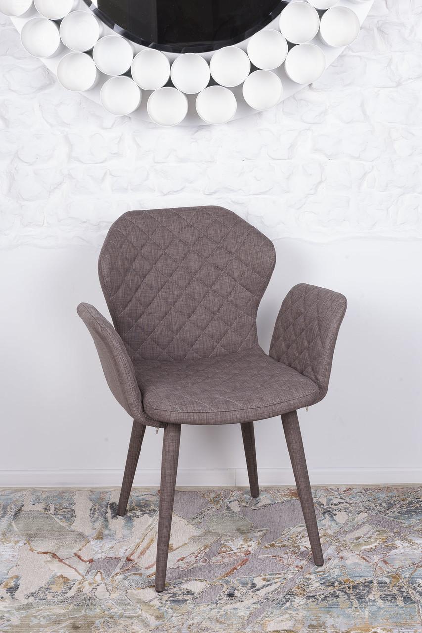 Кресло VALENCIA (Валенсия) кофейный от Niсolas, ткань