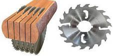 Пилы дисковые для многопила с расклинивающими ножами по периметру.