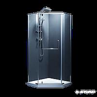 Душевая кабина Devit Comfort FEN0123G пятиугольная 90х90 см