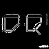 Поддон Devit Comfort FTR0123 пятиугольный 90х90 см, фото 2
