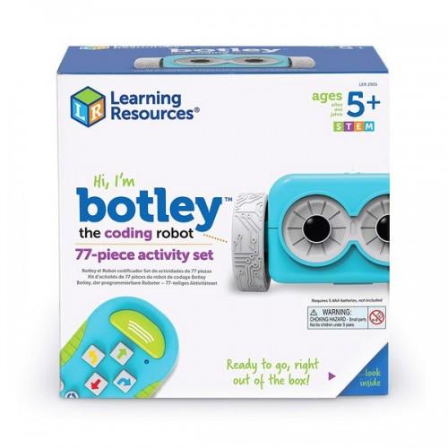 Игровой STEM-набор LEARNING RESOURCES – РОБОТ BOTLEY программируемая игрушка-робот пульт аксесс. LER2935
