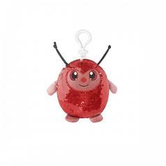 Мягкая игрушка с пайетками SHIMMEEZ – СИМПАТИЧНАЯ БОЖЬЯ КОРОВКА 9 см, на клипсе SMZ01000L