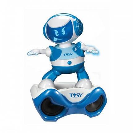 Набор с интерактивным роботом DISCOROBO – ЛУКАС ДИДЖЕЙ робот MP3-плеер с колонками танцует озв. TDV107-U, фото 2