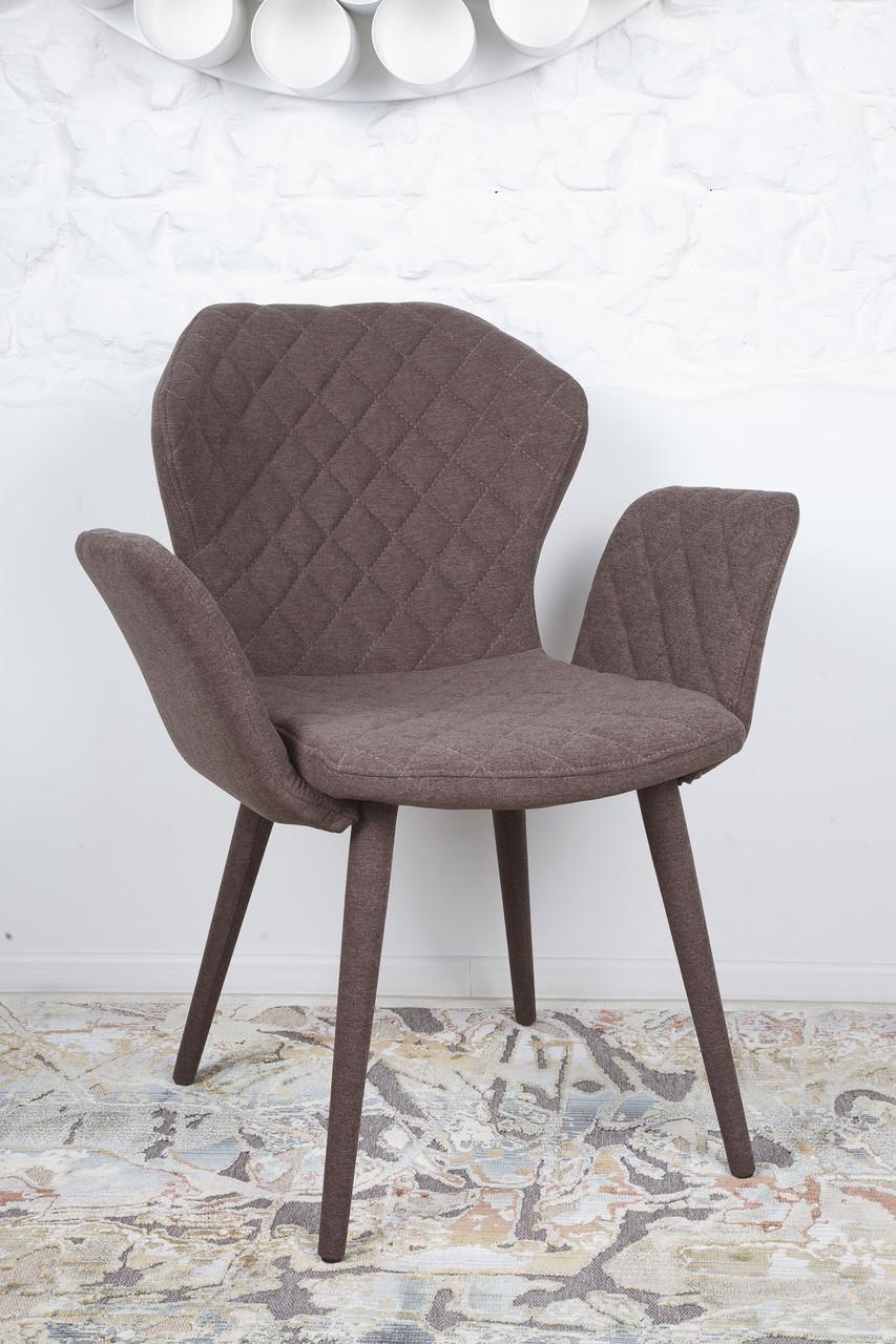 Кресло VALENCIA (Валенсия) коричневый от Niсolas, ткань