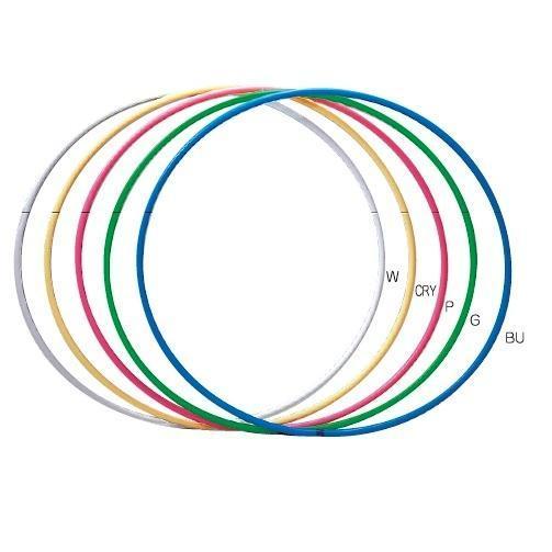 Обруч кольоровий, металевий гімнастичний  SPORTKO арг.ОГ1  d 900 мм