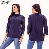 Модная женская строгая рубашка в размерах 42-56, фото 6