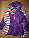 Тепленькая курточка на холодную осень на флисе с шарфиком (Размер  2-3Т) PINK PLATINUM (США), фото 5