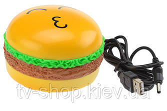 Вибромассажер с USB Гамбургер