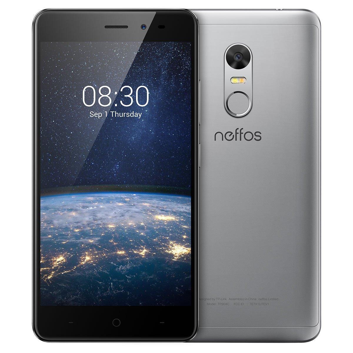 Смартфон Neffos X1 (ТР902А) 2/16GB Cloudy Grey
