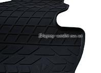 Водительский резиновый коврик Mercedes Benz W166 ML 2011- (1012354 ПЛ)