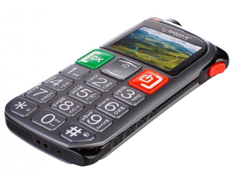 Мобильный телефон Sigma mobile Comfort 50 Light Dual Grey