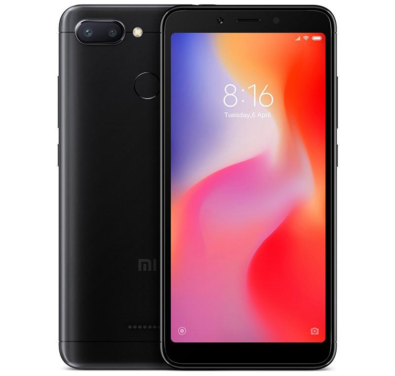 Смартфон Xiaomi Redmi 6 4/64 Black