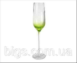 Бокалы 6 шт Венера-тюльпан зеленый 200 мл ( фужеры )