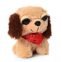 Мягкая игрушка Малышка Глазастик - милашка Собачка, 12 см,10103