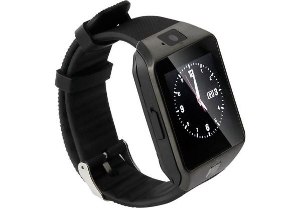 Часы Smart Watch DZ09 Gsm/Bluetooth/камера/micro SD, встроенный микроф