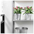 Искусственное растение в горшке IKEA FEJKA 12 см розовая ромашка 103.953.36, фото 2