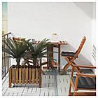 Искусственное растение в горшке IKEA FEJKA 19 см пальма саго 304.103.12, фото 5