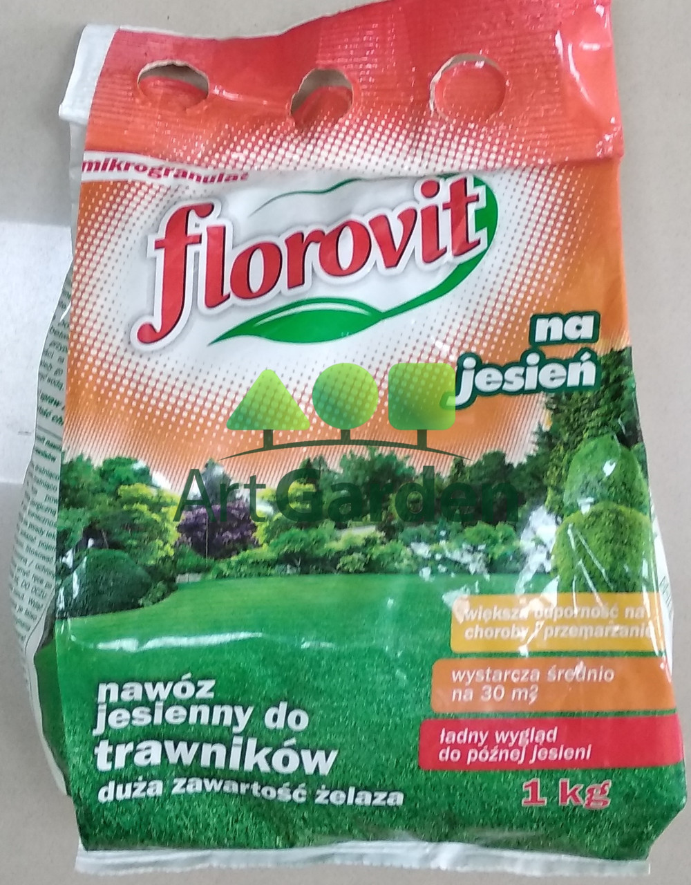 LOROVIT для газонів осіннє 1кг