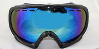 Маска-очки фирмы New Balans(MONT BLANC Carbon Blue )