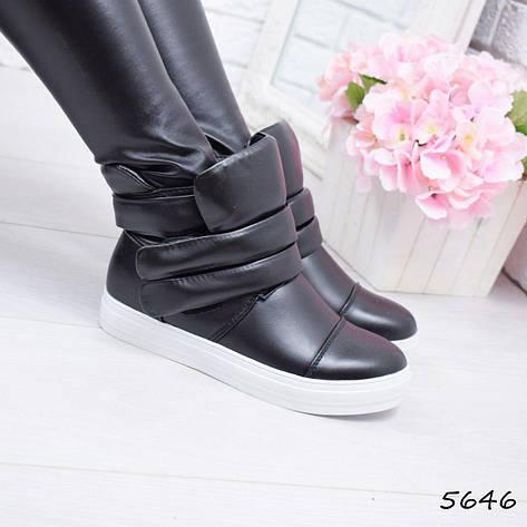 """Ботинки, сникерсы, ботильоны """"Layzu"""" эко кожа, повседневная, демисезонная, осенняя, женская обувь, фото 2"""