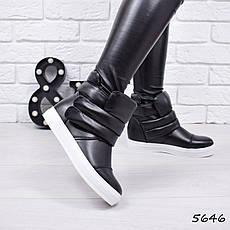 """Ботинки, сникерсы, ботильоны """"Layzu"""" эко кожа, повседневная, демисезонная, осенняя, женская обувь, фото 3"""